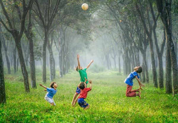 درمان چاقی کودکان با ورزش