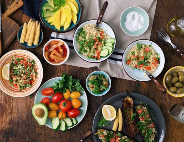 گیاهخواری در رژیم غذاییکم خونی