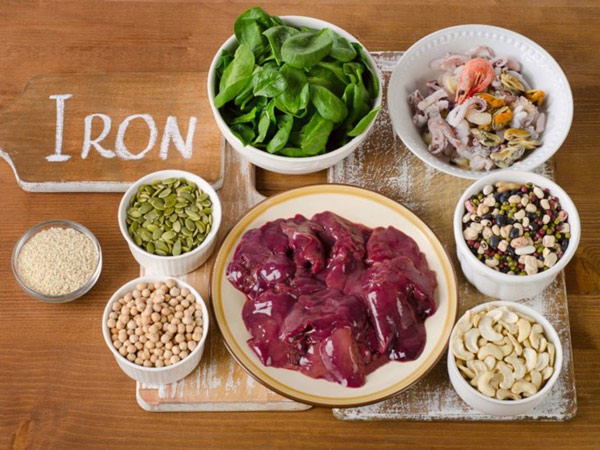 ۱۰ غذای سرشار از آهن