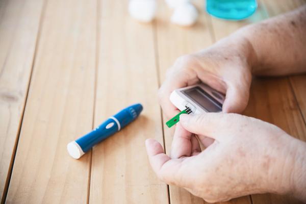 تشخیص خانگی دیابت