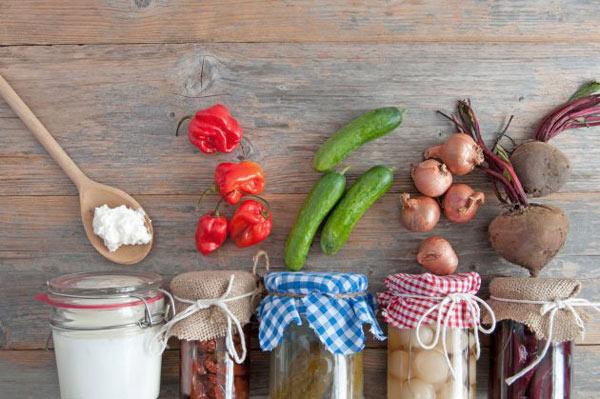میوهها و سبزیجات حاوی پروبیوتیک
