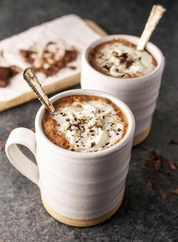 طرز تهیه شکلات داغ بدون شیر