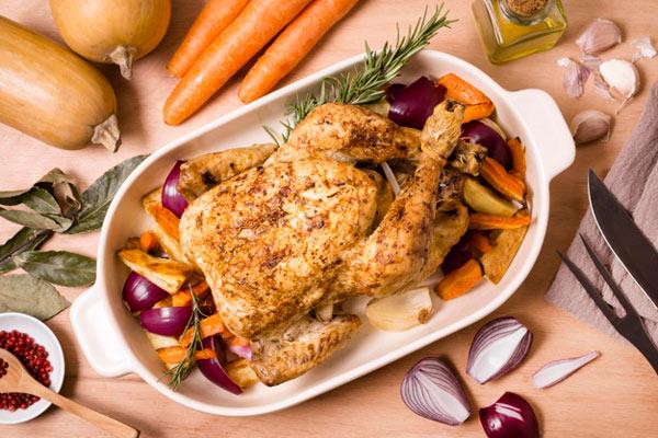 طرز تهیه مرغ بریان خانگی