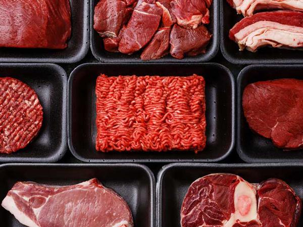 گوشت قرمز، مرغ، تخم مرغ و ماهی در رژیم غذایی دش