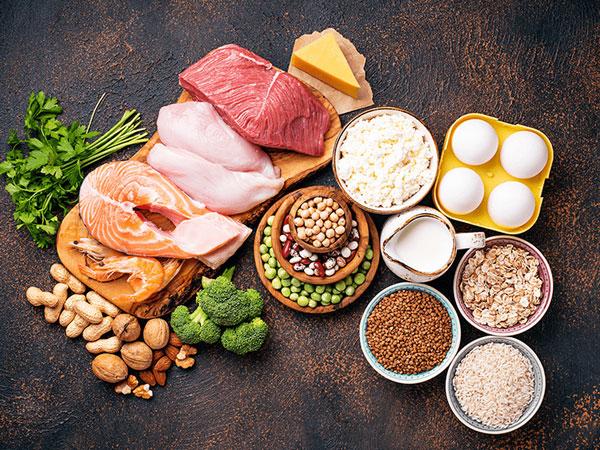 مواد غذایی دارای ویتامین ب۲