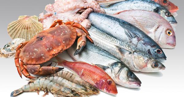 غذاهای دریایی ممنوع در رژیم پرکاری تیروئید