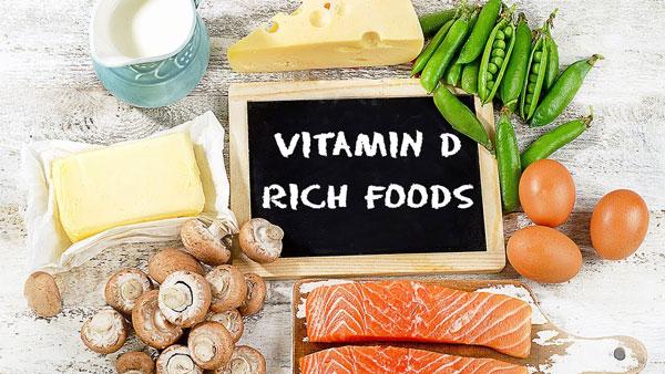 غذاهای حاوی ویتامین دی برای تیروئید پرکار