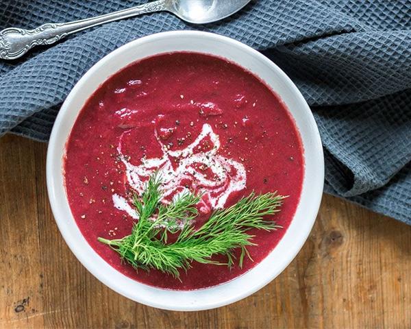 طرز تهیه سوپ لبو