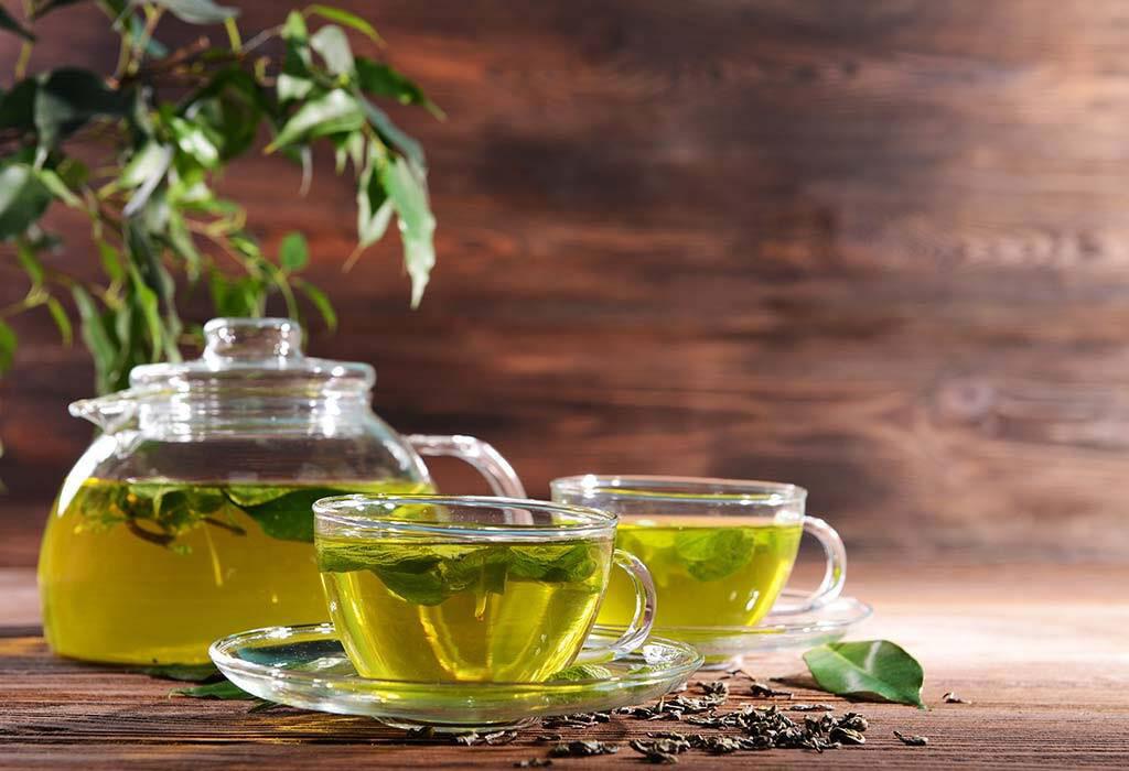 درمانهای خانگی زگیل تناسلی زنان چای سبز