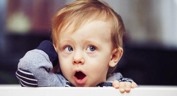 تیرگی دور چشم نوزادان