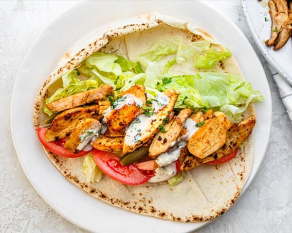 طرز تهیه شاورما مرغ به سبک لبنانی