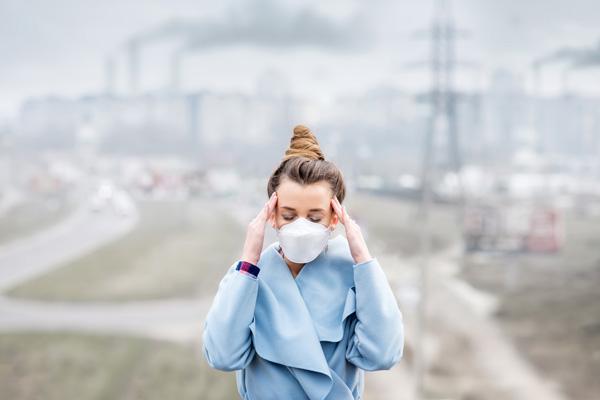 مسمومیت با آلودگی هوا چیست