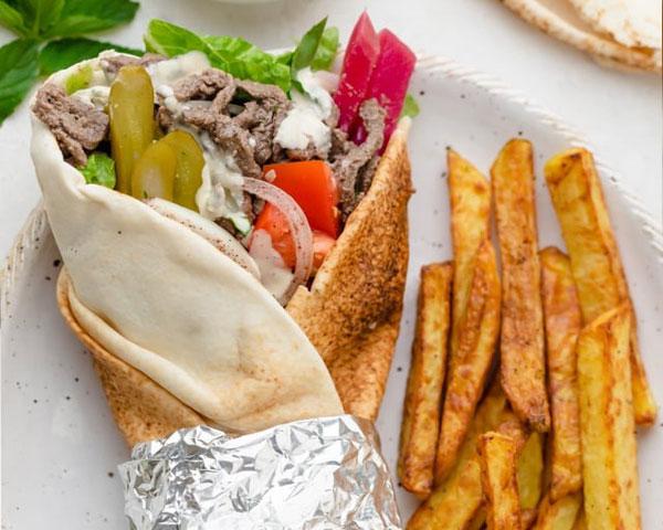 طرز تهیه شاورما گوشت عربی