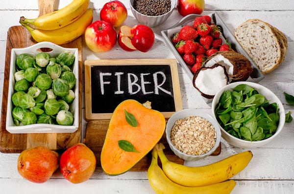 به رژیم غذایی خود فیبر اضافه کنید