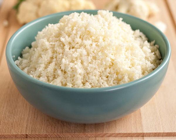 طرز تهیه برنج گل کلم برای رژیم کتوژنیک