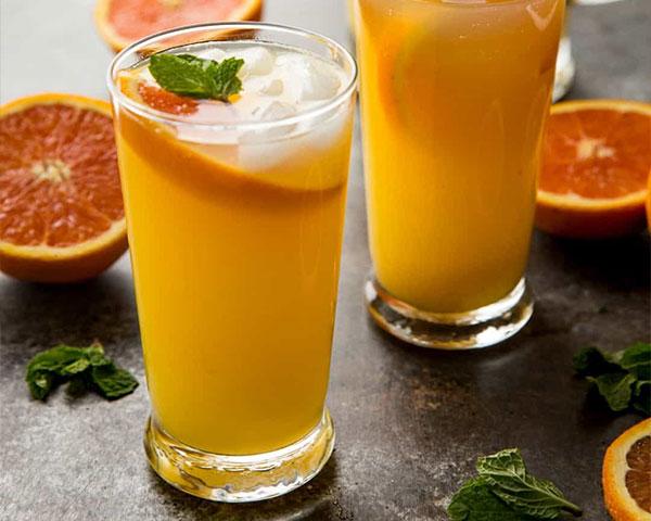 طرز تهیه موهیتو پرتقال نوشیدنی خنک تابستانی