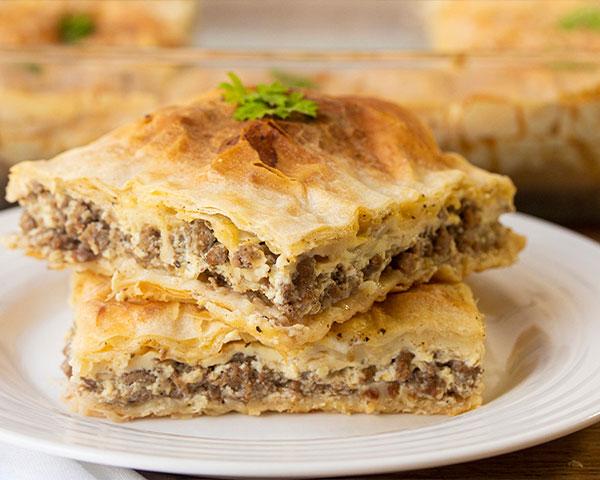 طرز تهیه بورک گوشت ترکی