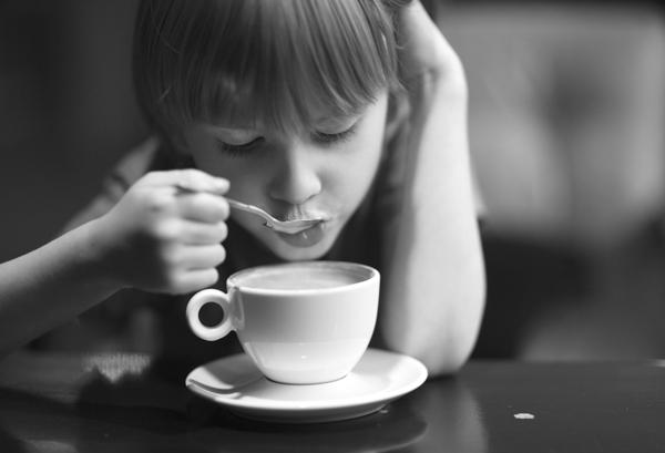 مصرف کافئین برای کودکان
