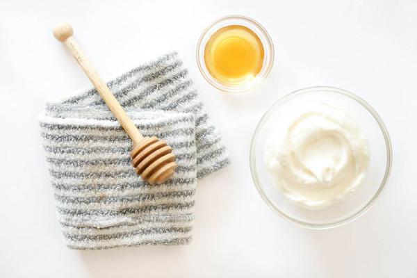 ماسک ماست و عسل برای پاکسازی مو
