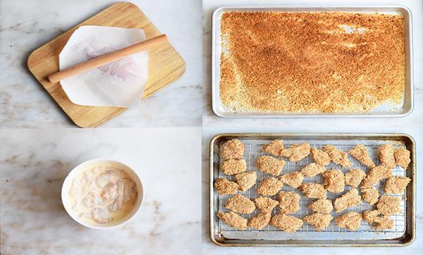 طرز تهیه ناگت مرغ خانگی در منزل