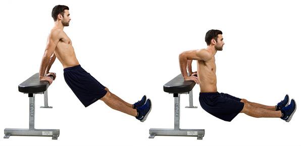 از بین بردن پوست شل بازو با حرکت عضلات سه سر