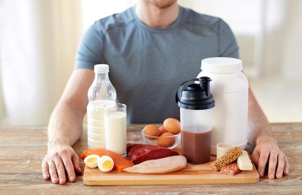 لاغر کردن بازو،مصرف پروتئین