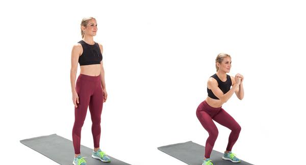 لاغر کردن ران با ورزش