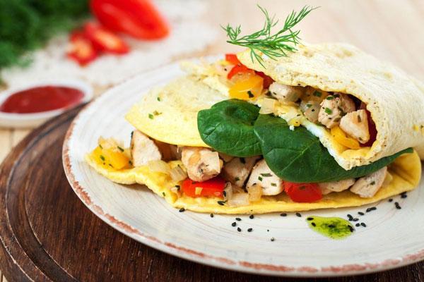 املت مرغ یک غذای مناسب برای رژیم کتوژنیک