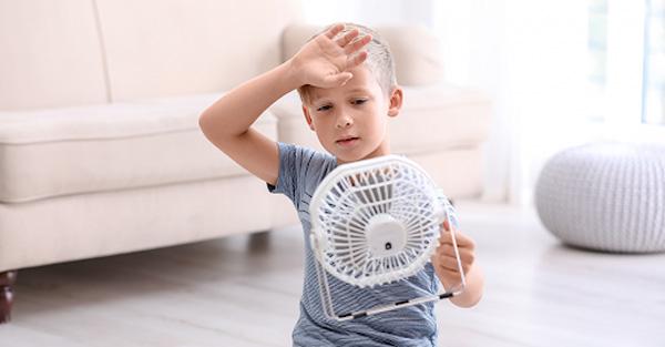 گرمازدگی خفیف در کودکان