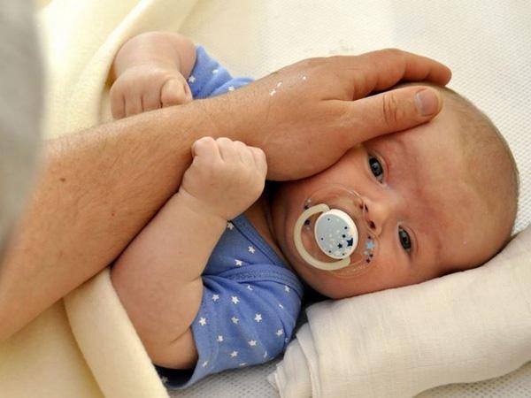 درمان گرمازدگی نوزادان
