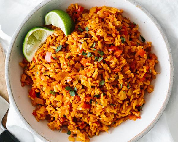روش پخت پلو مکزیکی