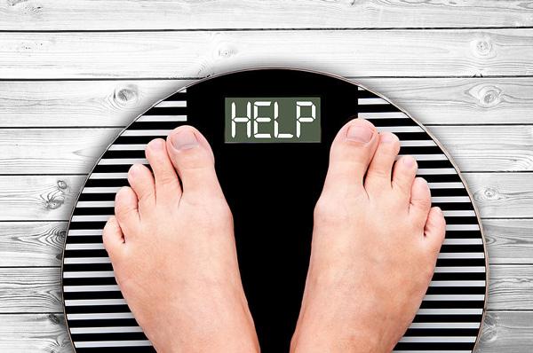 دلایل استپ وزن