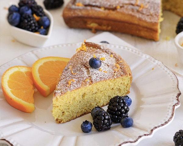 طرز تهیه کیک پرتقالی ساده خوشمزه